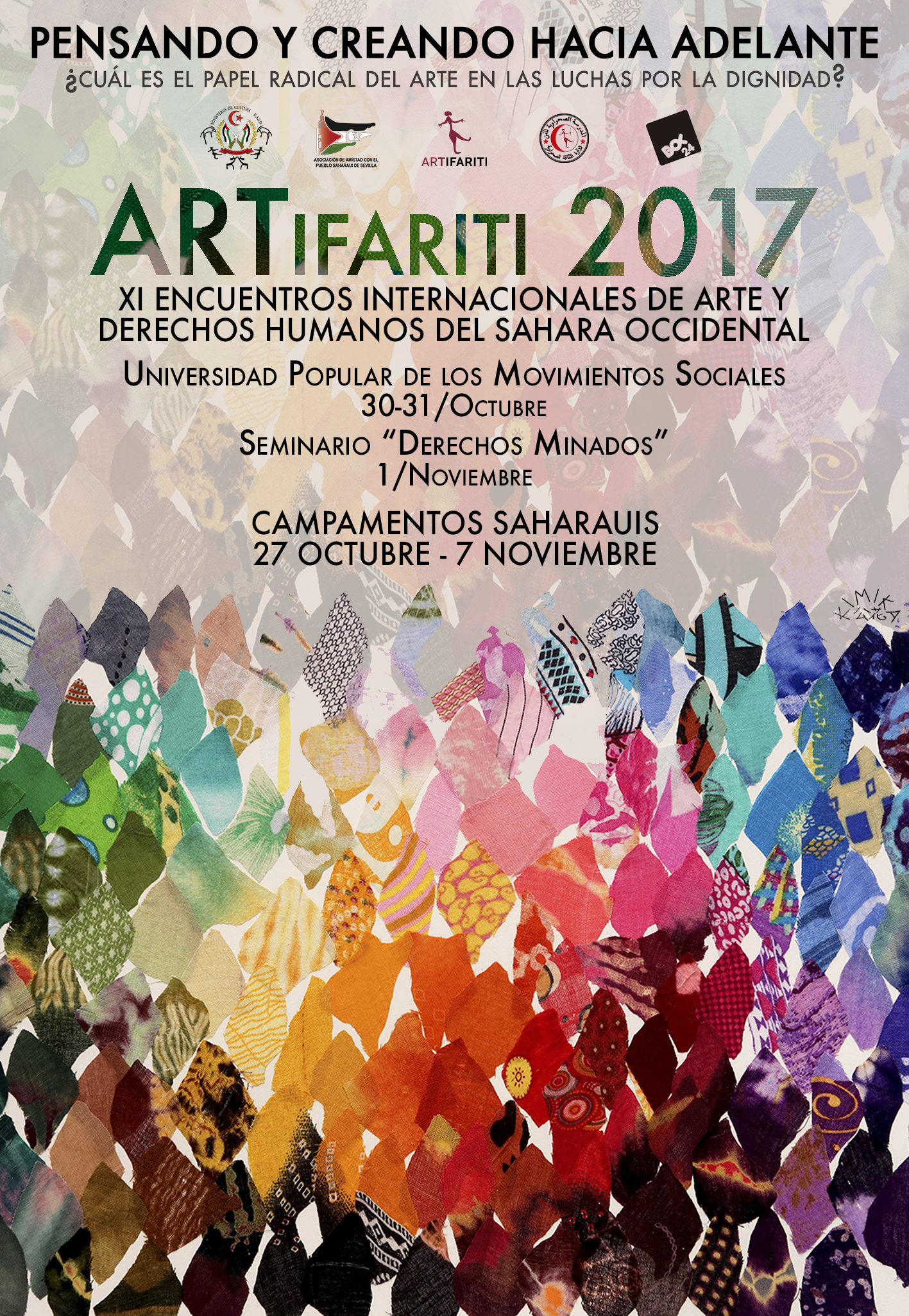 Cartel ARTifariti 2017